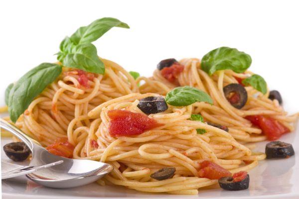 Špagety s olivami |