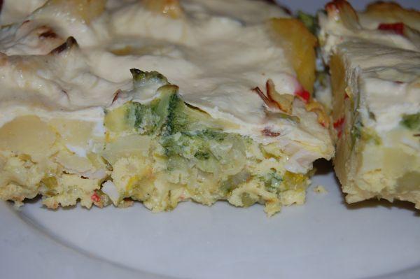 Zapekaná brokolica a polievka |
