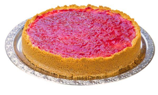 Malinová torta s limetou |