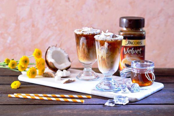 Kokosová ľadová káva |