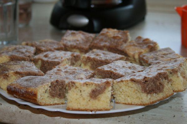 Dvojfarebný koláč so Salkom |