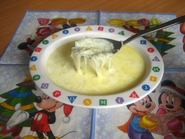 Mliečna polievka s rezancami  