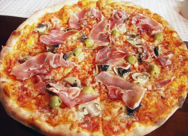 Polentová pizza |