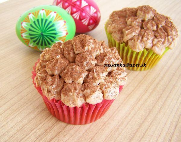 Vanilkové cupcakes |