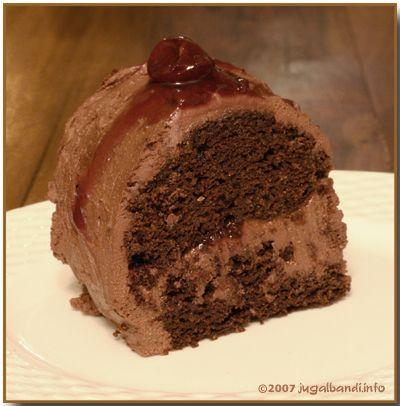 Dánsky rumový koláč  