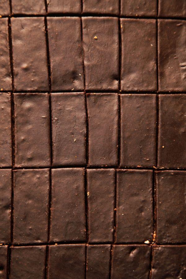 Punčové čokoládové rezy |