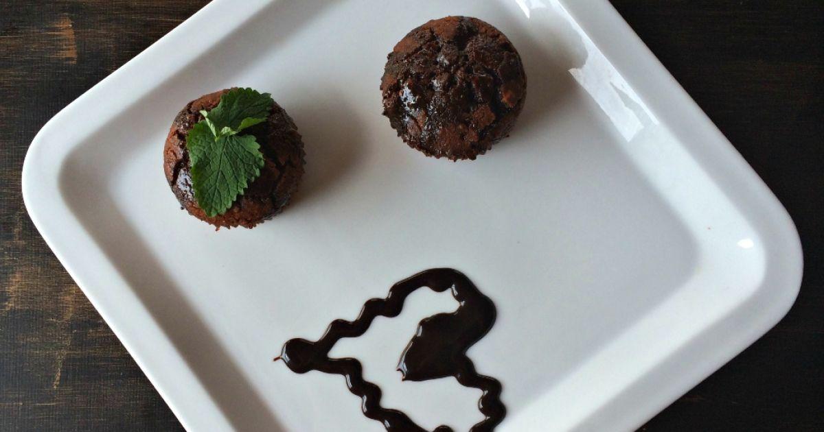 Bezlepkové čokoládové muffiny z ryžovej múky, fotogaléria 1 / 1.