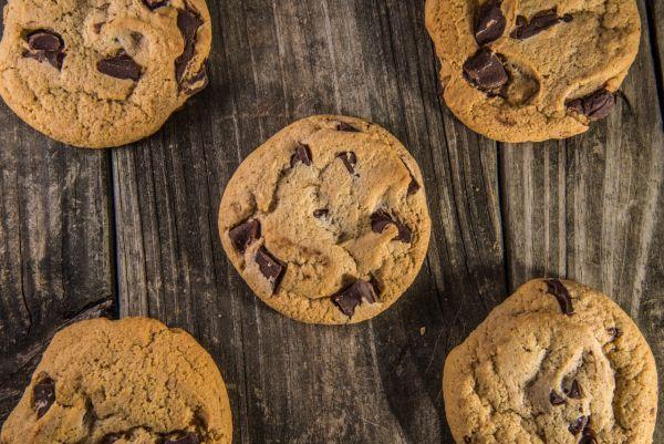 Cookies s čokoládovými čipsami |