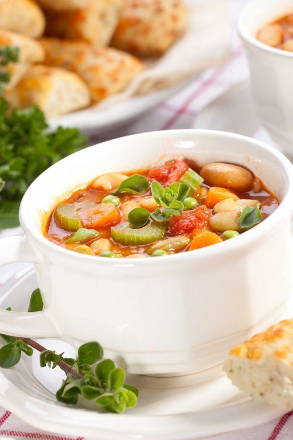 Polievka minestrone |