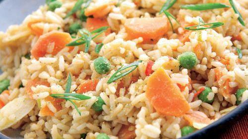 Pražená ryža |
