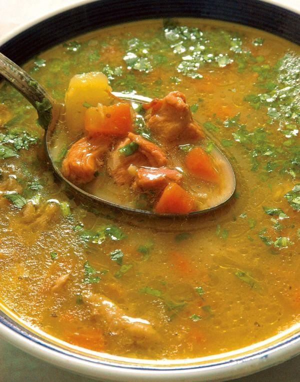 Gulášová polievka z baranieho mäsa |