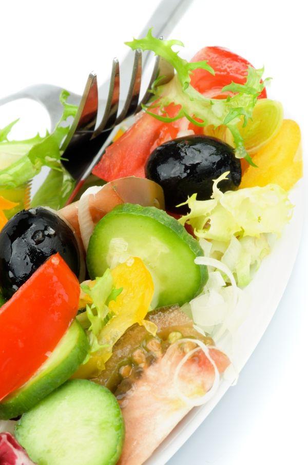 Osviežujúci zeleninový šalát  