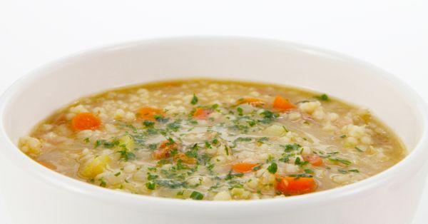 Krúpová polievka |