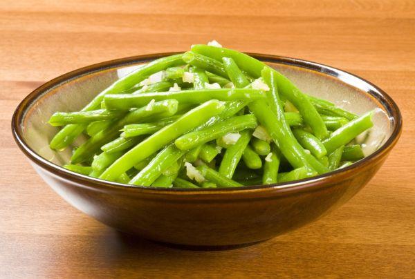 Zelená fazuľka s cesnakom (studená) |