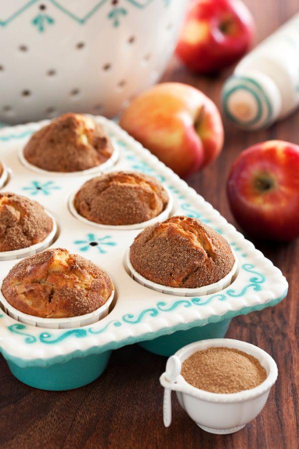Jablkovo-škoricové muffiny |