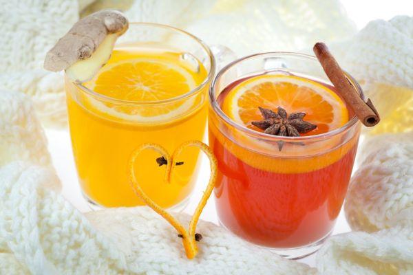 Medový pomarančový punč |