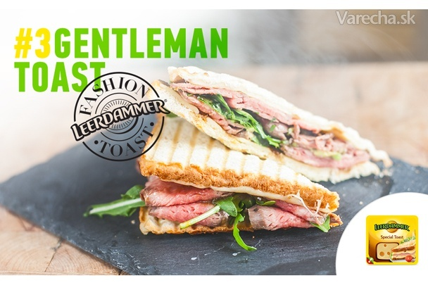 Gentleman toast  Recept