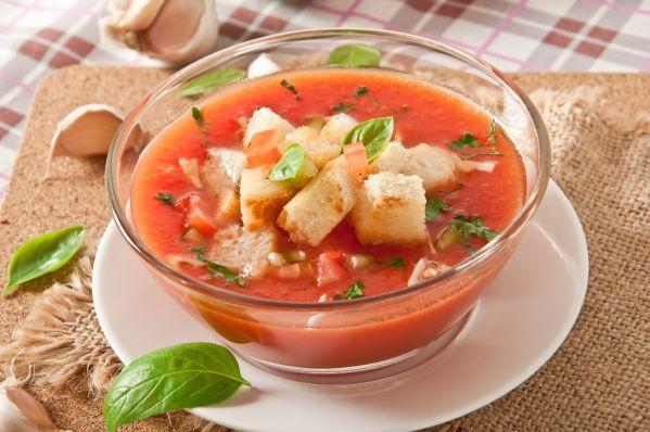 Klasické gazpacho |