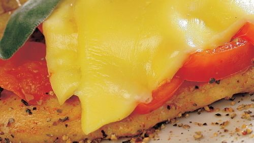 Kuracie prsia s mozzarellou  