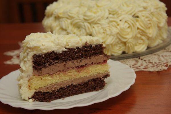 Torta s ružami |