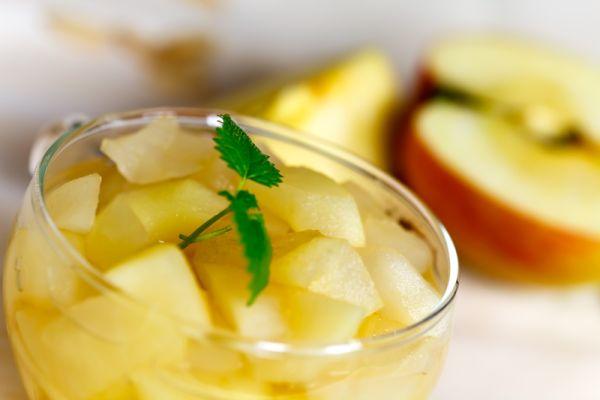 Jablkovo – hruškový kompót |