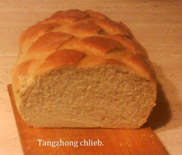 Tangzhong chlieb |