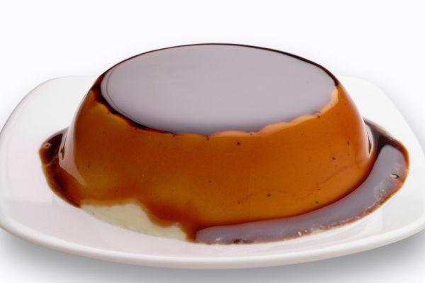 Kávový dezert s karamelovou omáčkou |