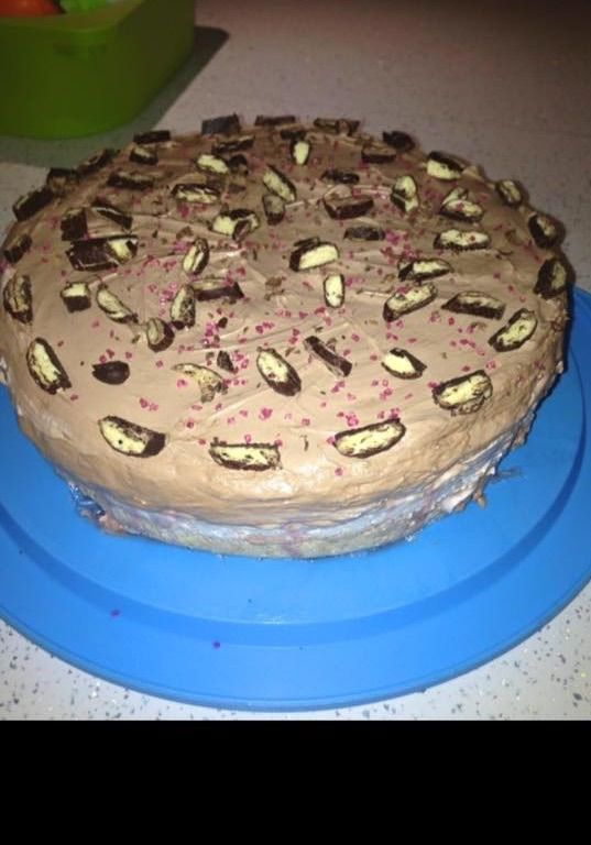 Nepečená torta Banány v čokoláde |