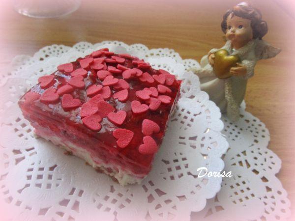Valentínska nepečená pochúťka |