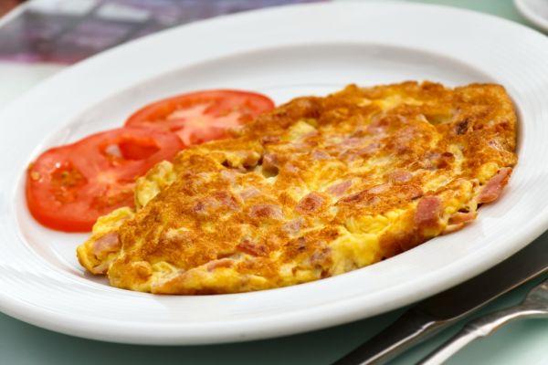 Šunková omeleta |