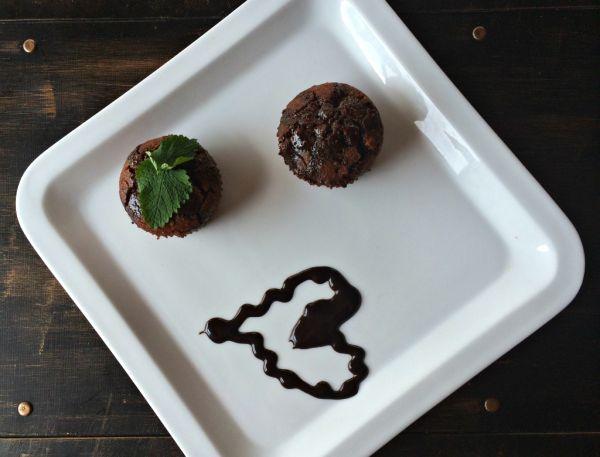 Bezlepkové čokoládové muffiny z ryžovej múky |