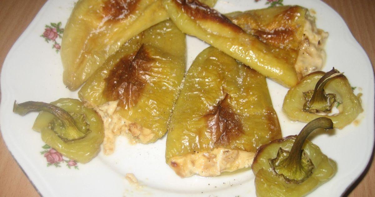 Pečená paprika plnená so syrom, fotogaléria 1 / 9.