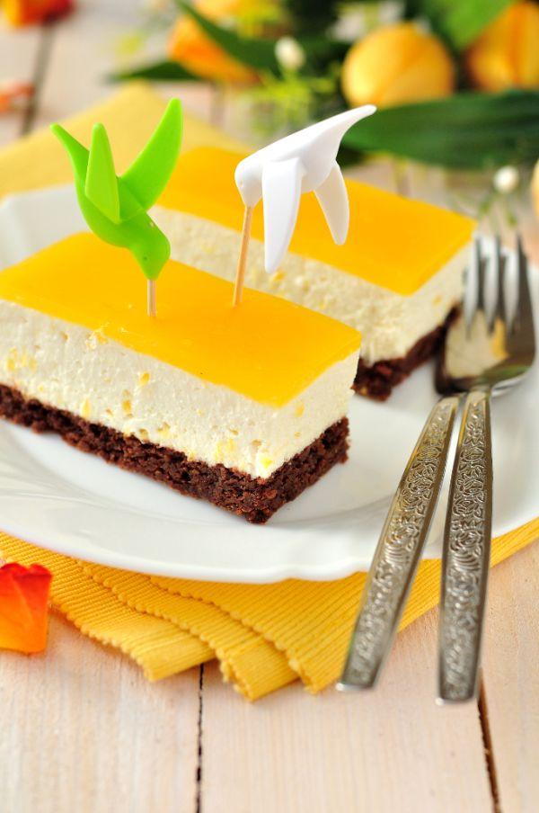 Pomarančovo-tvarohový koláč |