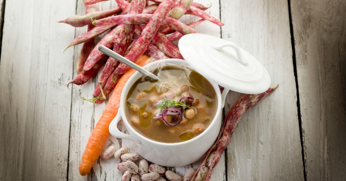 Talianska fazuľová polievka, fotogaléria 1 / 1.