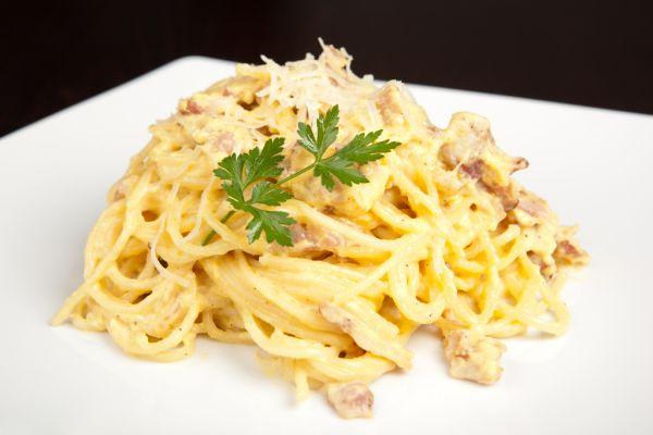 Spaghetti carbonara |