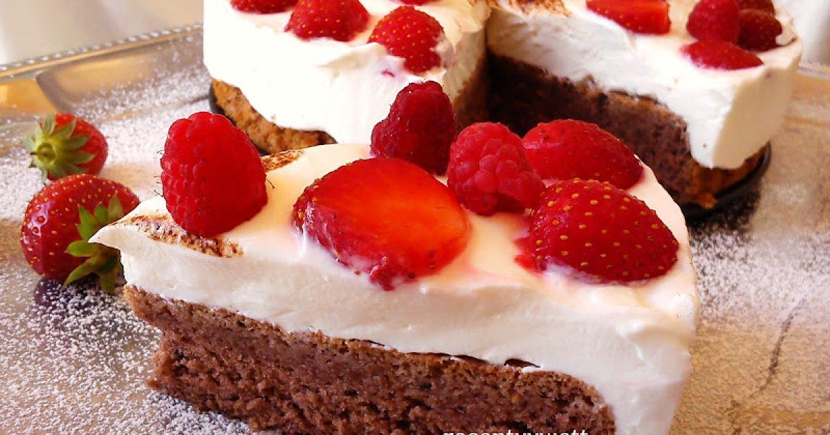 Ovocná mini torta s tvarohom a jahodami, fotogaléria 8 / 8.
