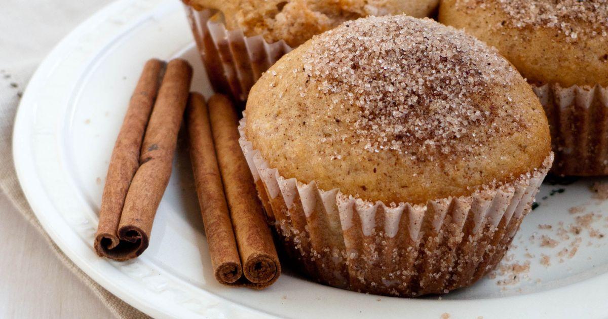 Škoricové muffiny plnené Nutellou, fotogaléria 1 / 1.
