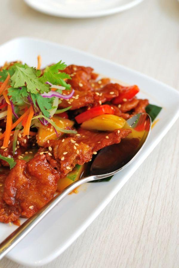 Bravčové mäso na čínsky spôsob |
