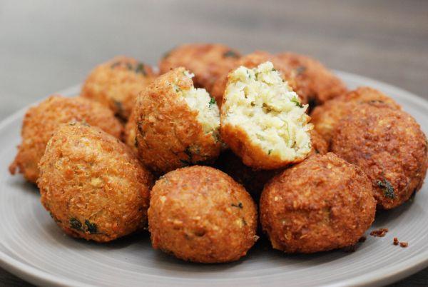 Falafel- cícerové arabské gule |