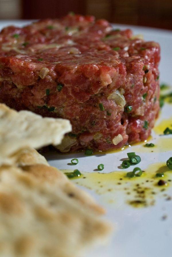 Tatársky biftek a la Wimmer  