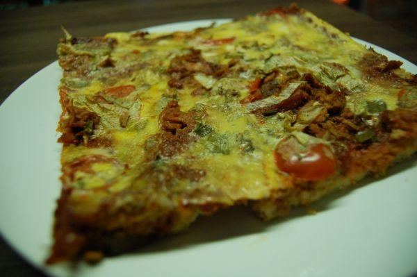 Úžasná pizza zo starého chleba |