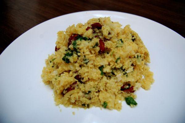 Exotické karfiolové rizoto bez ryže |