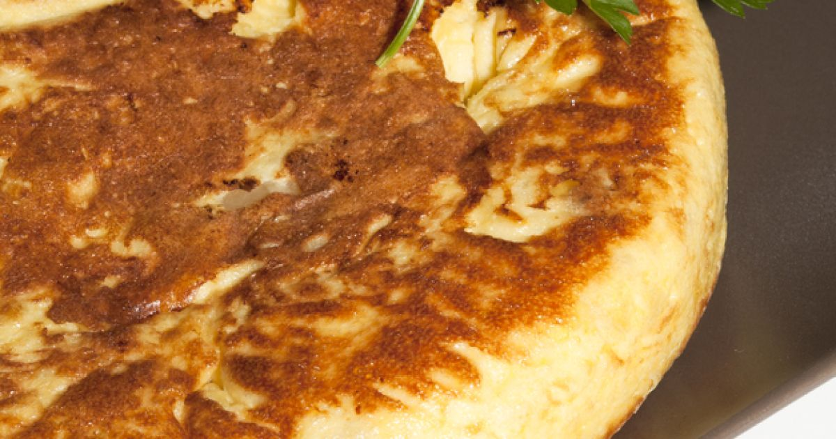 Španielská omeleta, fotogaléria 1 / 1.