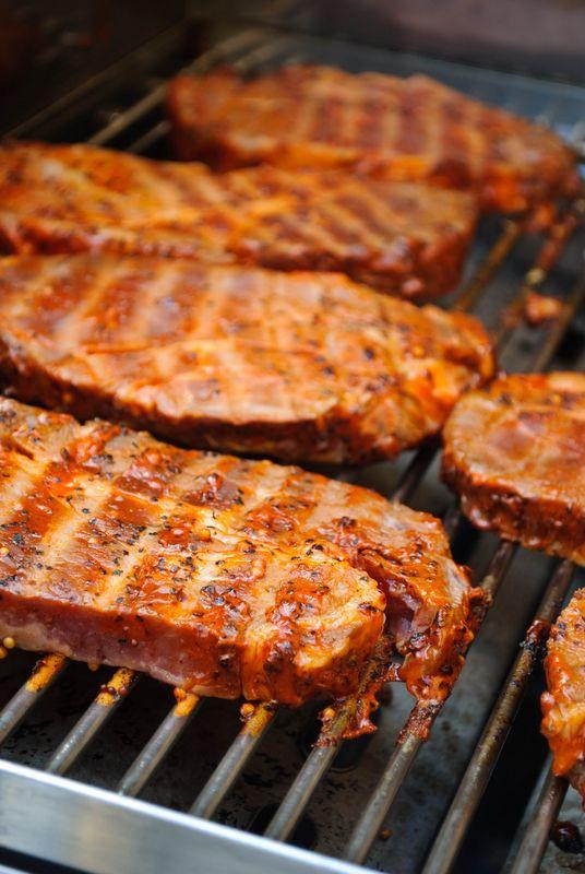 Baranie steaky na mede |