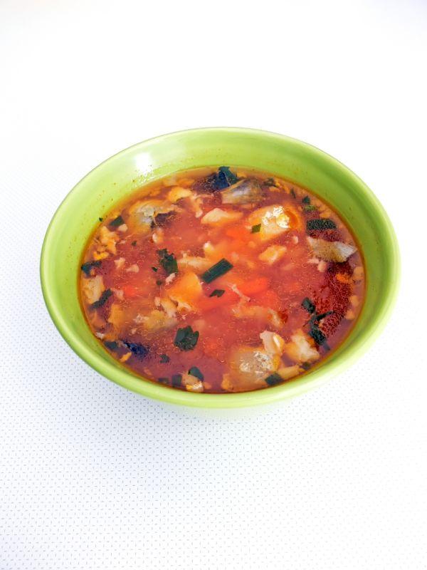 Maďarská rybacia polievka |