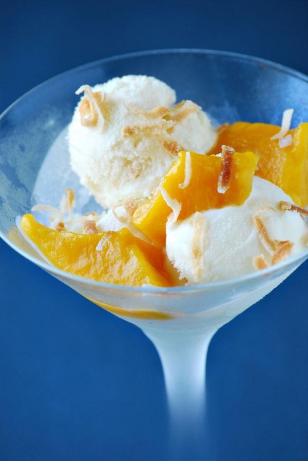 Mangový dezert |