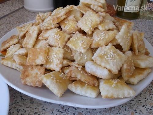 9441ebb87 Slané pečivo z lístkového cesta (fotorecept) - Recept