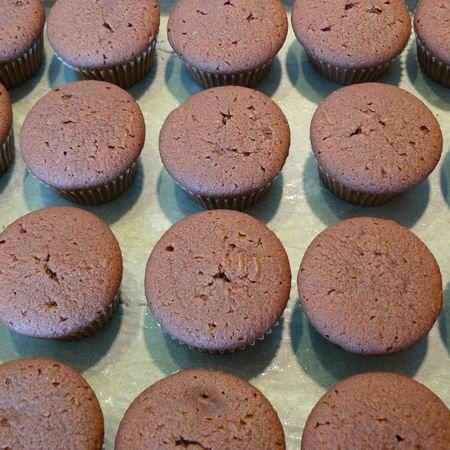 Čoko muffinky alebo Vianočné muffinky |