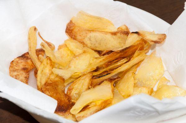 Domáce zemiakové čipsy |