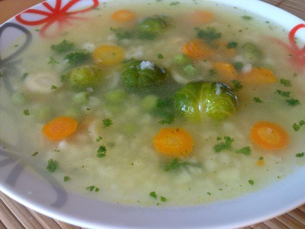 Domáca mrvenička do polievky |